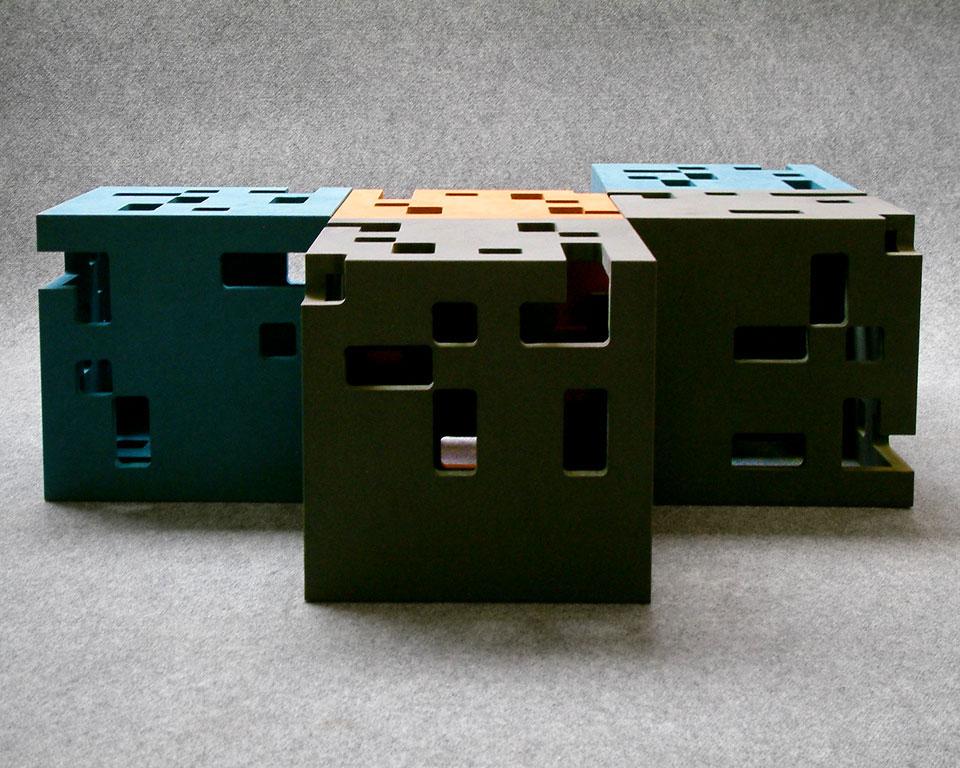 Bijzettafeltje, serie, Proper collectie Elements I