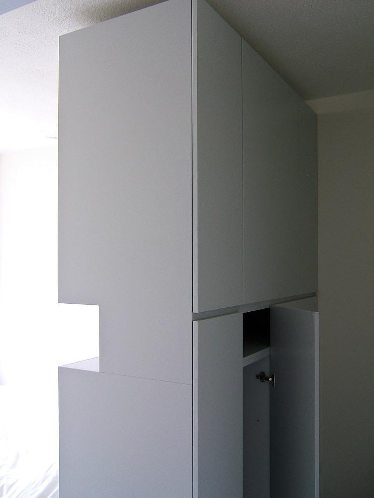 Geliefde Proper | Bed met roomdivider en bergruimte | Proper3d PA45